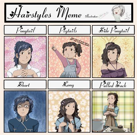 Hairstyle Meme - hairstyles meme mira by novanoah on deviantart