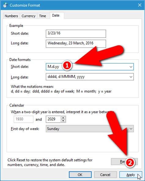 javascript format date for display how to change the format of dates and times in windows