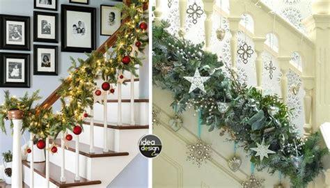 come decorare le candele per natale decorare le scale per natale 20 idee a cui ispirarsi