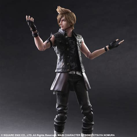 prompto final fantasy play arts kai final fantasy xv figures the toyark news