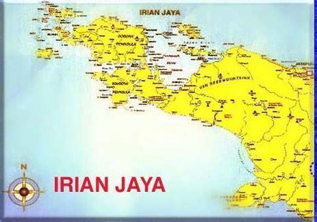 takjub indonesia peta pulau irian papua