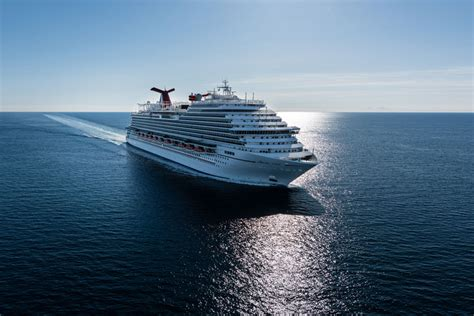 largest cruise line carnival takes delivery of its largest ever cruise ship