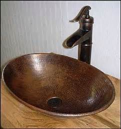 bathroom vanities with sinks and faucets rustic bathroom vanity with copper vessel sink ms1373 25