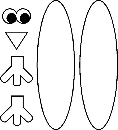 printable turkey to make turkey pattern