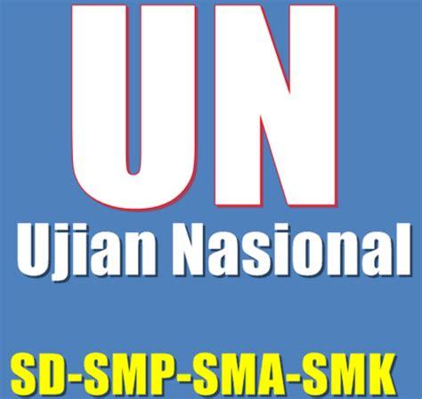 Trik Taklukkan Un Ujian Nasional Untuk Smp Mts 2018 Bonus Cd jadwal dan soal ujian nasional smp sma 2016