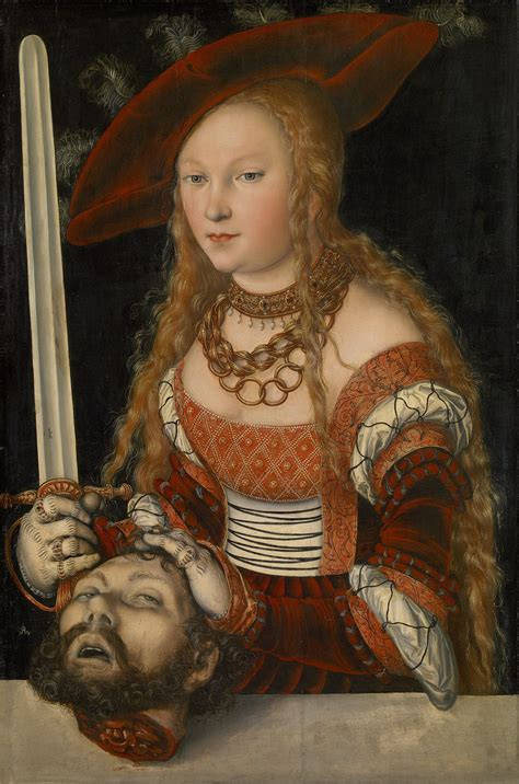 libro renaissance basic art 2 0 lucas cranach the elder judith with the head of holofernes art 16th century