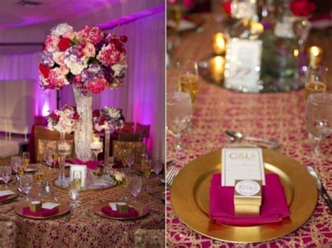 Fuschia, purple and gold   Wedding   Fuchsia/Hot Pink