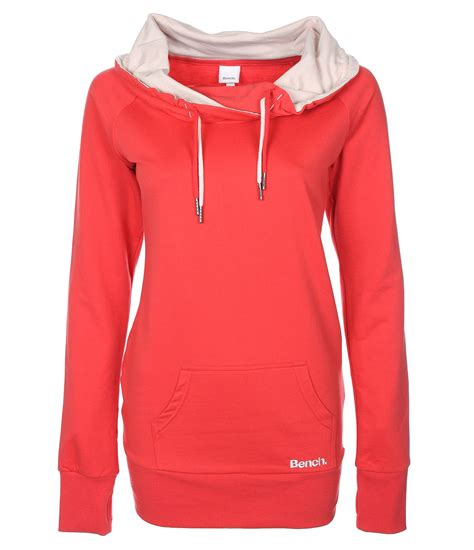bench womens clothing bench womens dopiofun sweat overhead in red lyst