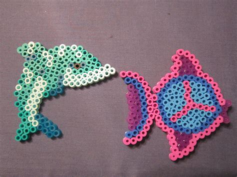 fish perler bead designs day 119 with perler inspired by the sea