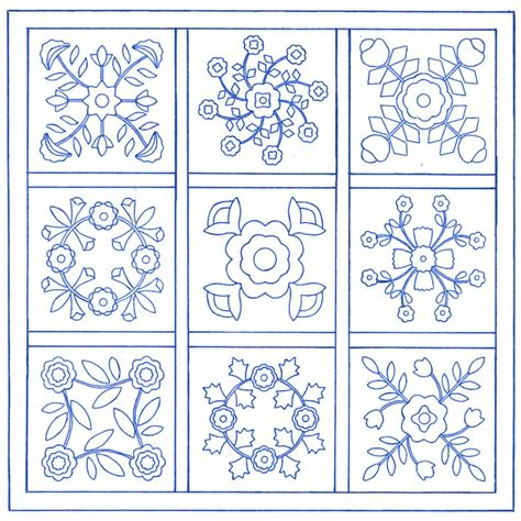 Quilting Applique Patterns by Free Applique Quilt Block Patterns Traditional Applique