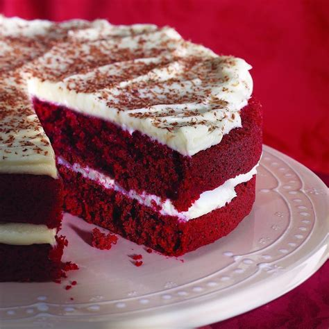 Redvelved Original velvet cake with cheese frosting recipe eatingwell