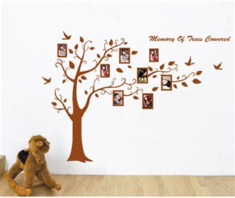 big family picture frames big family picture photo frame tree branches wall stickers