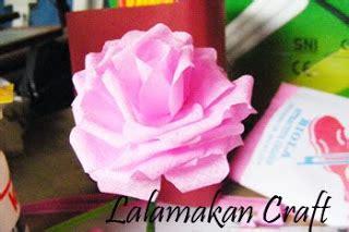 creativity tutorial tutorial membuat bunga rose