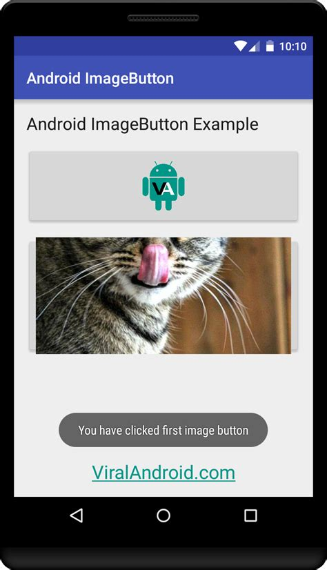 android tutorial onclick android imagebutton viral android tutorials exles