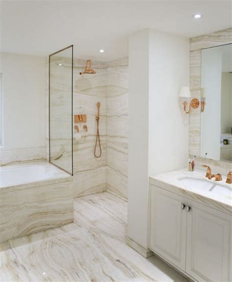 white and gold bathroom ideas marble rose gold bathroom designed by katharine pooley