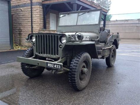 Jeep Willys 1944 Missing Picture Ad Milweb Classifieds