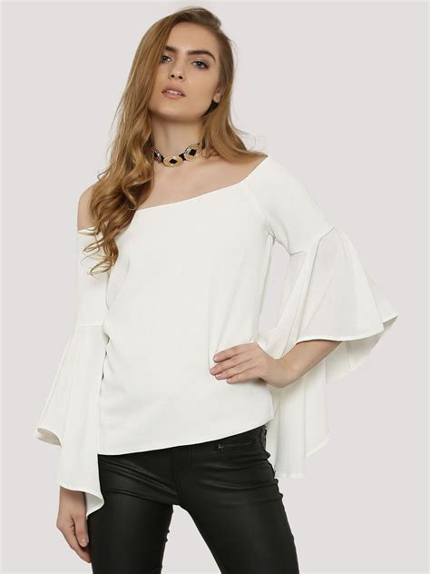 Bell Sleeve Shoulder Top buy forever new shoulder bell sleeve top for