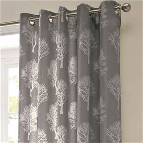 Charcoal Linen Curtains Eyelet Curtains Woodland Charcoal Eyelet Curtains Curtains Linen4less Co Uk