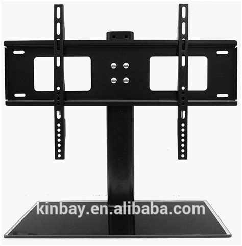 Universal 55 Tempered Glass universal 32 quot 55 quot metal glass lcd led tv bracket led tv