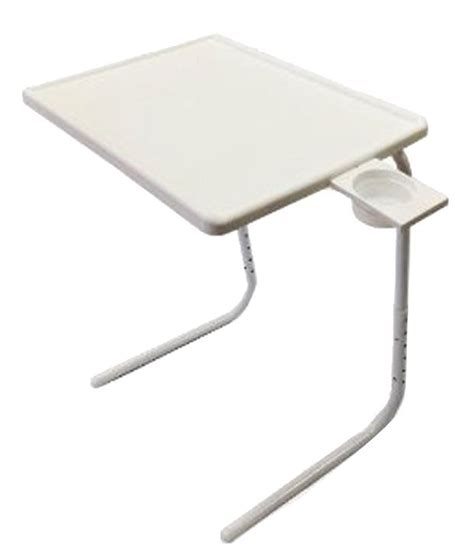 table mate ii adjustable portable folding laptop study table mate  cupholder changing table