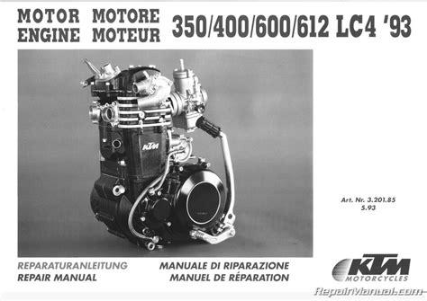 service manual manual repair engine for a 1995 mitsubishi eclipse service manual pdf 2003 1993 1995 ktm 350 400 600 612 620 lc4 motorcycle engine repair manual
