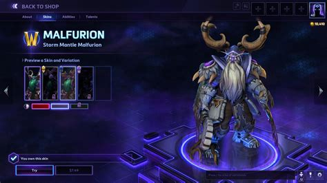 Heroes Of The Storm Giveaway - official heroes of the storm storm mantle malfurion hero skin giveaway complete