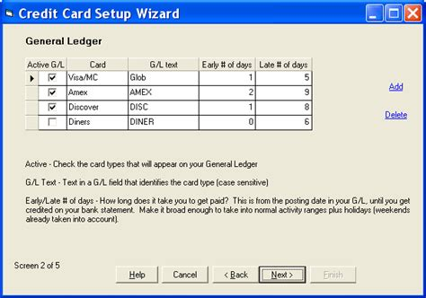 Credit Card Format Excel Credit Card Reconciliation Treasury Software