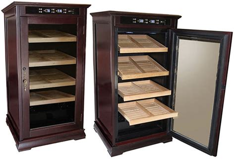 electronic cigar humidor cabinet new 1st class electronic cigar humidors remington and