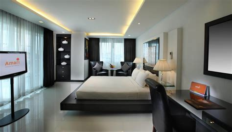 Two Bedrooms by Two Bedroom Suite Amari Suites Pattaya