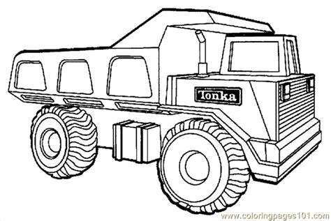 Free Printable Coloring Page Truck 22 Land Transport sketch template