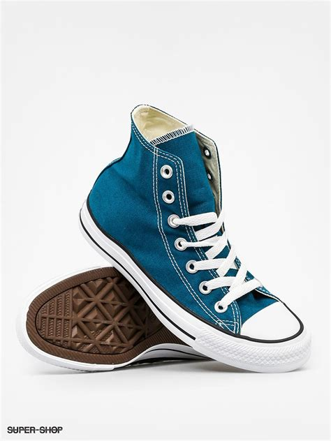 Converse Ghuck Hi Blue converse sneakers chuck all hi blue lagoon