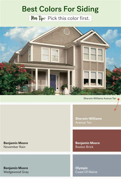 hottest colors  paint  exterior