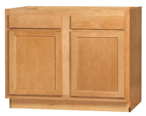 Kitchen Kompact Menards Kitchen Kompact Mellowood 42rbs Maple Sink Base Cabinet At