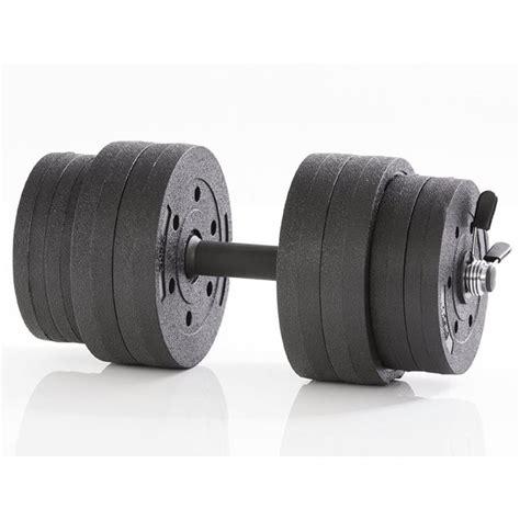 Dumbell 15kg gymstick active 15kg vinyl dumbbell set training365 no