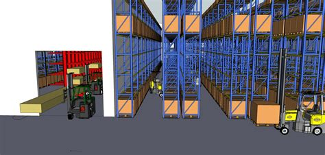 warehouse layout planning download hss warehouse planning pays off with space saved