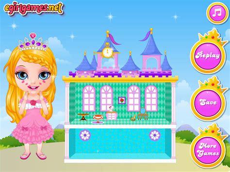 play baby barbie princess dollhouse   games