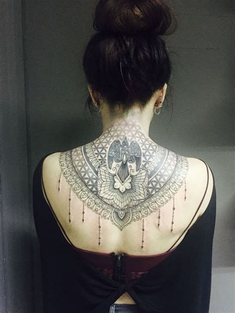 back of neck tattoos 18 best the jewelry images on back
