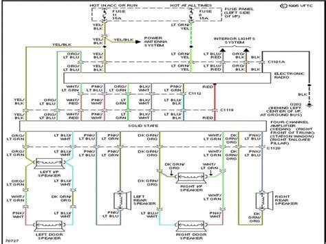 crown radio wiring wiring diagram repair wiring