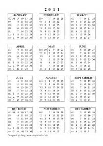 Calendar Of 2011 Large Desktop Calendars 2011 Black And Yellow Baground