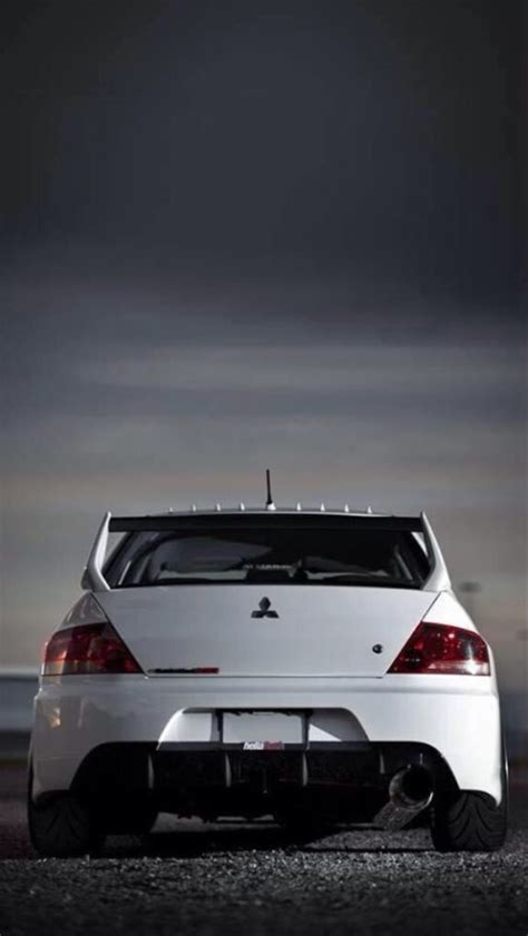 mitsubishi lancer evo iphone  wallpaper hd   iphonewalls