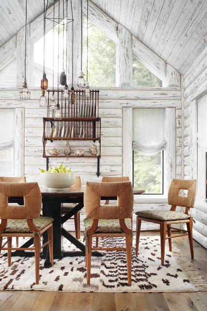 lake house dining room ideas whitewashed lake cabin rustic dining room milwaukee