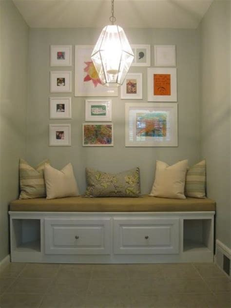 Built In Banquette Bench by Remodelaholic Build A Custom Corner Banquette Bench