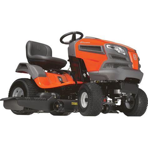 husqvarna riding lawn mower cc briggs stratton intek  twin engine  deck model