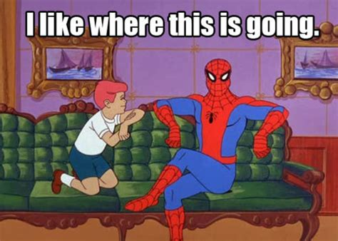 Spiderman Birthday Meme - image 110278 60s spider man know your meme