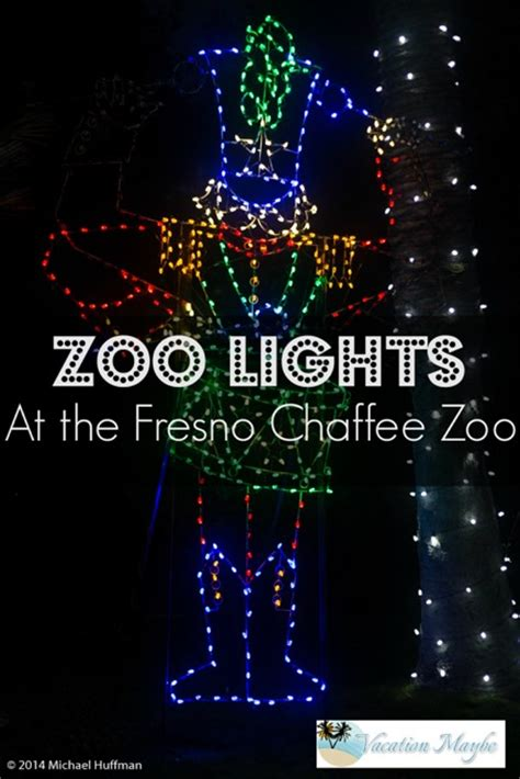 Zoo Lights At The Fresno Chaffee Zoo Vacationmaybe Com Zoo Lights Fresno Ca