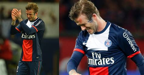 watch bench warmers watch the heartbreaking last moments of david beckham s