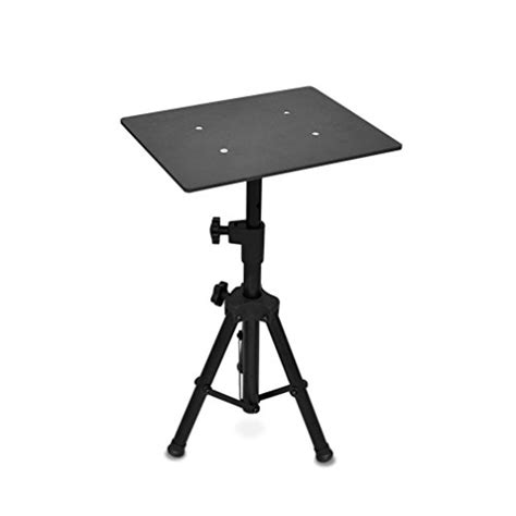 Tripod Projector Stand pyle laptop projector stand heavy duty tripod height adjustable 16 to 28 for dj