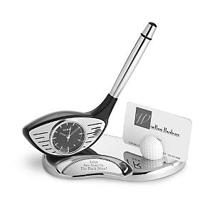 The Golf Desk by Personalized Golf Desk Set Things Remembered