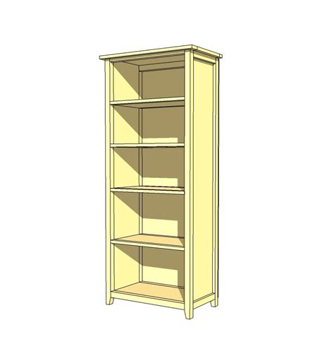 woodwork bookcase diy plans  plans