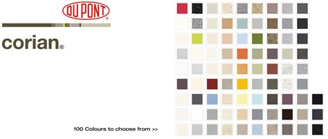 Corian Color Chart Corian Corian Solid Surface Corian Fabricators